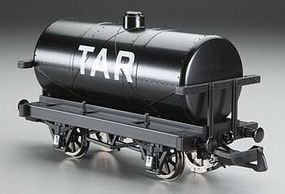 Bachmann Rolling Stock - Tar Tank Car G Scale Model Train Freight Car #98009