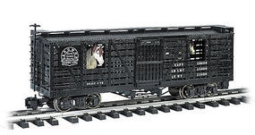 Bachmann Animated Stock Car D&RG with Horses G Scale Model Train Freight Car #98701