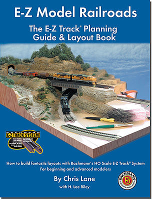 Bachmann E-Z Model RRs Track Planning Book -- HO Scale Model Railroad Book -- #99978