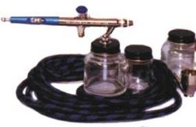 Badger 155 Anthem w/All Purpose Nozzle/Needle Siphon Bottom Feed Airbrush and Airbrush Set #1551