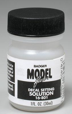Badger Airbrush Co. Decal Setting Solution 1 oz -- Painting Mask Tape -- #16-801