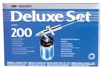 Badger 200-3 Airbrush Set with Propel Airbrush and Airbrush Set #200-3