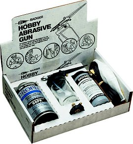 Badger Mini Sandblaster Abrasive Sprayer Set Airbrush and Airbrush Set #260-3