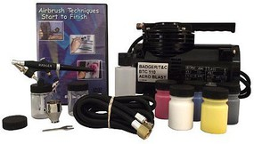 Badger 350 Airbrush Starter Set, with BTC-110 Compressor