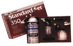Badger Airbrush Co. Medium Head Single Action Bottom Feed -- Model and Hobby Airbrush Set -- #3502