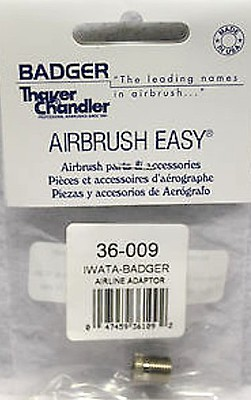 Badger Airbrush Co. Iwata Airbrush-Badger Hose Adapter