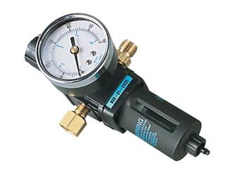 Badger Air Regulator w/Filter & Gauge Airbrush Accessory #50-054
