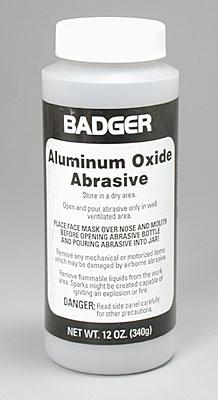 Badger Aluminum Oxide Abrasive 12 oz Airbrush Accessory #50-260