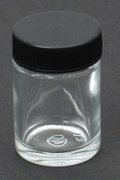Jar & Cover 3/4 oz Airbrush Accessory #50-0052