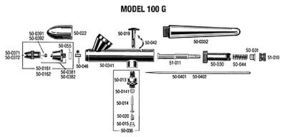 Needle Chuck for Model 200 Airbrush Accessory #50010