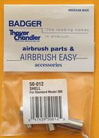Badger Shell/Airbrush Body Model 200 w/Needle Bearing Airbrush Accessory #50012