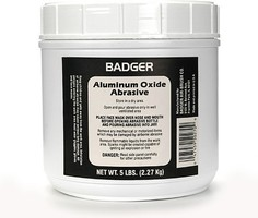 Badger Aluminum Oxide Abrasive 5 lbs. Net. Weight for Model 260