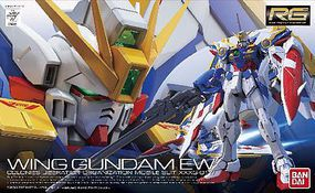 Bandai RG XXXG-01W Wing Gundam EW Snap Together Plastic Model Figure 1/144 Scale #0203222