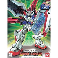 Bandai HG L.O. Booster Gundam Wing G-Unit Snap Together Plastic Model Figure 1/144 Scale #057918