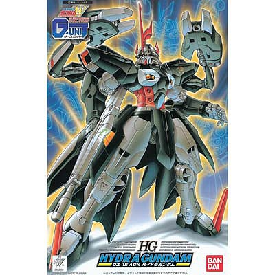 Bandai Models HG Hydra Gundam ''Gundam Wing G-Unit'' -- Snap Together Plastic Model Figure -- 1/144 -- #059291