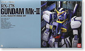 Bandai RX-178 GUNDAM Mk-II AEUG PG Snap Together Plastic Model Figure #106047