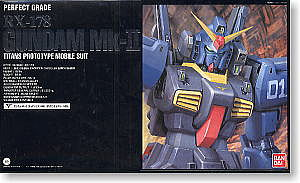 Bandai RX-178 Gundam Mk-II Titans PG Snap Together Plastic Model Figure #112816