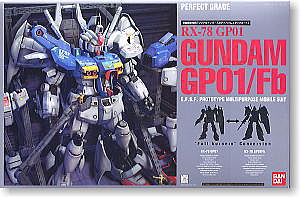 Bandai Gundam GP01/Fb PG Snap Together Plastic Model Figure #116409