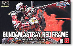 Bandai 12 ASTRAY RED FRAME HG Snap Together Plastic Model Figure #122715