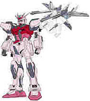 Bandai MSV 1 Strike Rouge & IWSP Snap Together Plastic Model Figure #124918