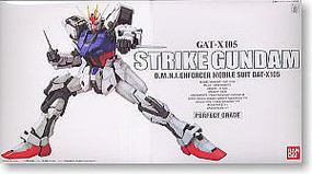 Bandai GAT-X105 Strike Gundam PG Snap Together Plastic Model Figure #131413