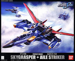 Bandai Skygrasper and Aile Striker Snap Together Plastic Model Figure 1/60 Scale #134101
