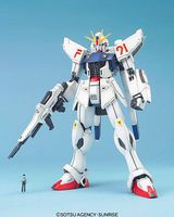 Bandai Gundam F91 Snap Together Plastic Model Figure #145070
