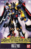 Bandai Gundam Astray Gold Frame Amatsu #13 Plastic Model Kit 1/100 Scale #145071