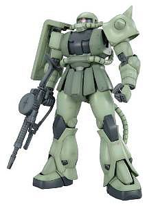 Bandai Models MS-06F ZAKU II ver 2.0 MG -- Snap Together Plastic Model Figure -- #153144