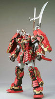 Bandai SHIN MUSHA GUNDAM MG Snap Together Plastic Model Figure #153804