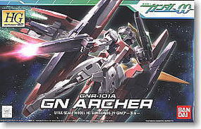 Bandai 29 GN ARCHER HG Snap Together Plastic Model Figure #157477