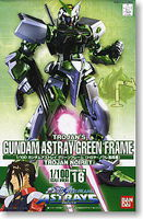 Bandai #16 Gundam Astray Green Frame 1/100 Snap Together Plastic Model Figure #158435