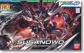 Bandai 46 SUSANOWO HG Snap Together Plastic Model Figure #159439