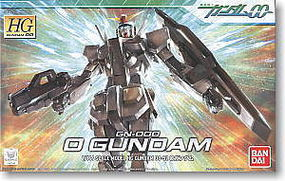 Bandai 52 O GUNDAM HG Snap Together Plastic Model Figure #160246