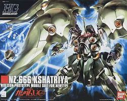 Bandai 99 NZ-666 KSHATRIYA HG Snap Together Plastic Model Figure #160542