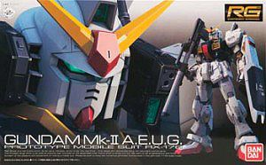 Bandai 8 RX-178 GUNDAM MK-II AEUG RG Snap Together Plastic Model Figure #176319