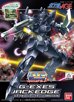 Bandai 022 G-EXES JACKEDGE AG Snap Together Plastic Model Figure #176507