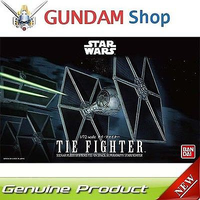 Bandai Models Tie Fighter Star Wars -- Snap Tite Plastic Model Figure -- 1/72 Scale -- #194870