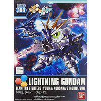Bandai BB#398 Lightning Gundam Gundam Build Fighters Snap Together Plastic Model Figure #196424