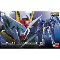 Bandai #18 00 Raiser Gundam 00 Snap Together Plastic Model Figure 1/144 Scale #196427