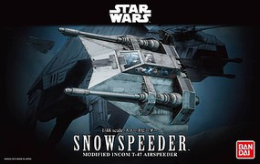 Bandai Snow Speeder Star Wars Snap Tite Plastic Model Figure 1/48 Scale #196692