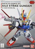 Bandai SD EX-Standard Aile Strike Gundam Snap Together Plastic Model Figure #196728