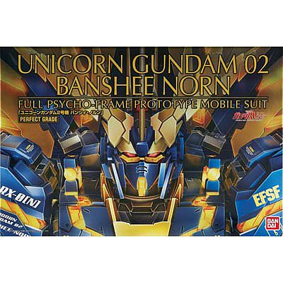 Bandai Models PG 1/60 Unicorn Gundam 02 Banshee Norn ''Gundam U -- Snap Together Plastic Model Figure -- #200641