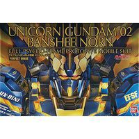 Bandai PG 1/60 Unicorn Gundam 02 Banshee Norn Gundam U Snap Together Plastic Model Figure #200641