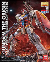 Bandai MG 1/100 RX-78 Gundam (The Original Version) Snap Together Plastic Model Figure #201314
