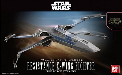Bandai Models RESISTANCE X-WING STAR FIGHTER
