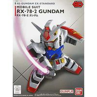 Bandai SD EX-Standard RX-78-2 Gundam Snap Together Plastic Model Figure #202641