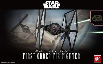 Bandai Models FIRST ORDER TIE FIGHTER