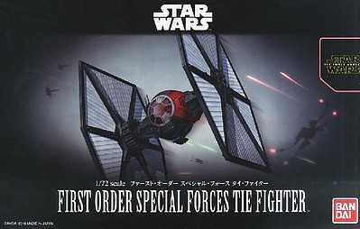 Bandai Models FIRST ORDER SP FORCE TIE FIGHT
