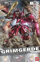 Bandai IBO Grimgerde Gundam IBO Snap Together Plastic Model Figure 1/100 #204181